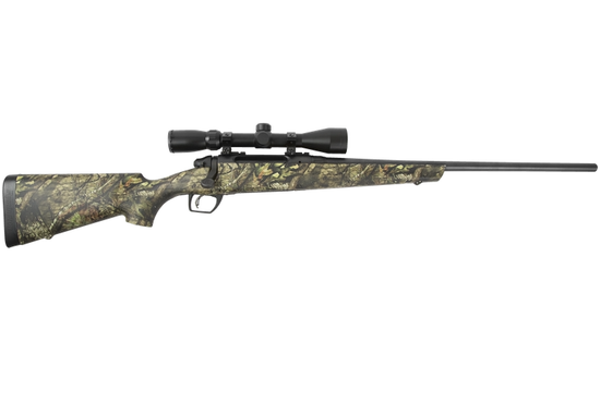 REMINGTON 783 RIFLE, MOSSY OAK CAMO WITH SCOPE, YOUR CHOICE OF CALIBER