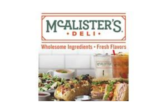 McAlister's Deli $15 Gift Certificate