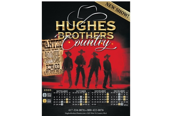 Hughes Brothers Country Show at the Country Show at Hughes Brothers Theatre