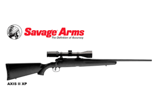 SAVAGE AXIS XP RIFLE YOUR CHOICE OF CALIBER